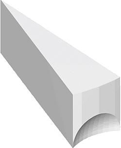 Рис. 7. Ложки каннелюр сверху и снизу