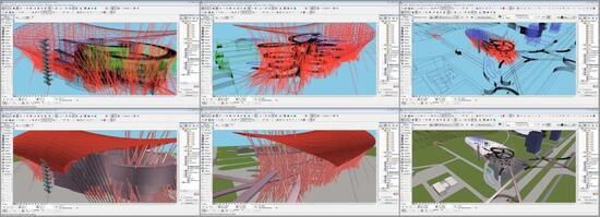 Проект-победитель Автопаркинг со станцией технического обслуживания был выполнен в ArchiCAD
