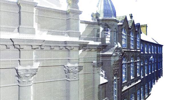 ARCHICAD 19 поддерживает работу с облаками точек, получаемыми при помощи лазерного 3D-сканирования