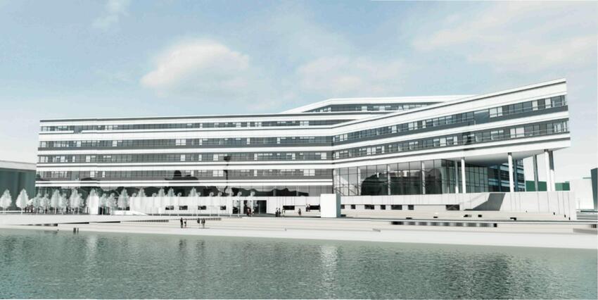 Новая штаб-квартира Инженерной школы Орхусского университета (Дания)