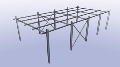 Импорт стандартных стальных профилей
