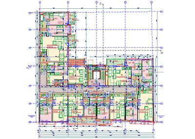 Размещение 2D плана в окне 3D модели
