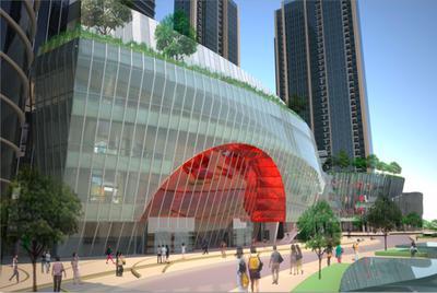 Всемирный торговый центр в Нанкине