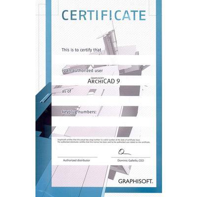 Сертификат лицензионного пользователя